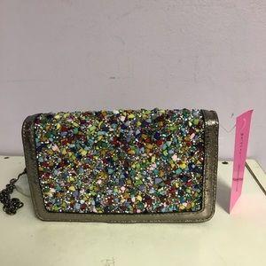 Betsey Johnson Rock Candy crossbody wallet NEW